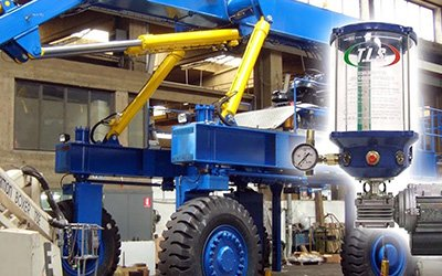 Automatic Lubrication System for Industrial application